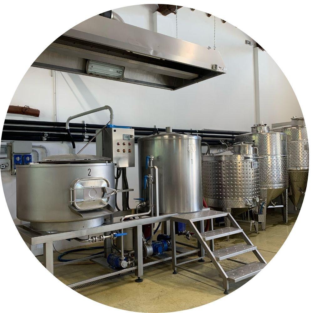 Produzione Birra artigianale- Birrificio Obici